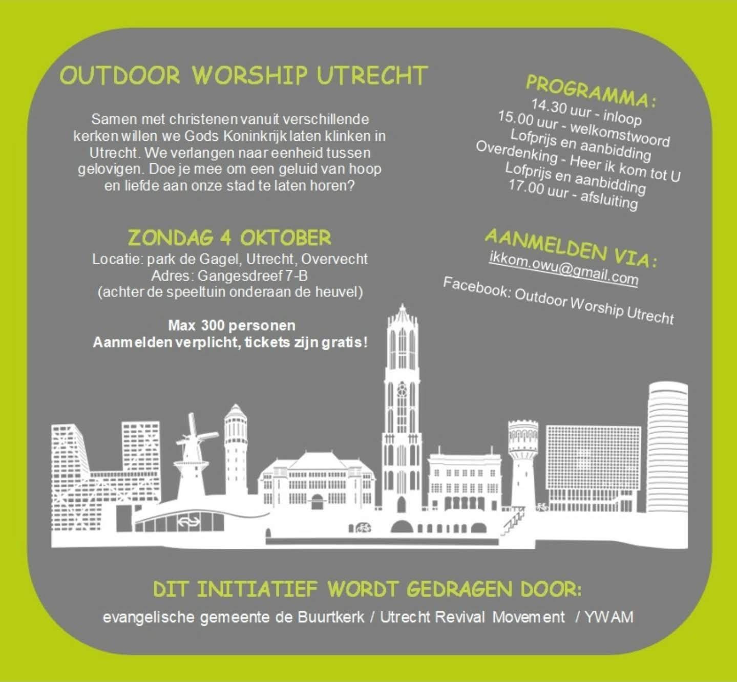 Outdoor Worship Utrecht